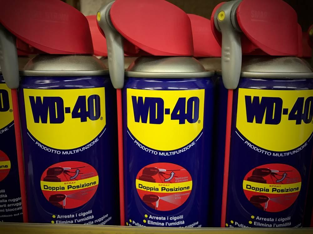 WD40 di tutti i formati
